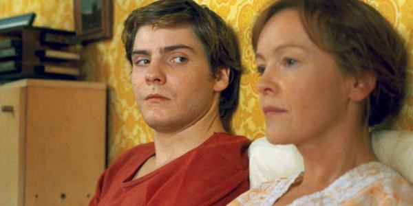 a screen still from the film Good Bye, Lenin